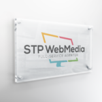 Büroschild STP WebMedia